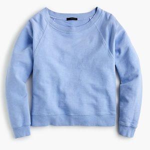 J Crew Blue Garment Dyed Sweatshirt Size XS